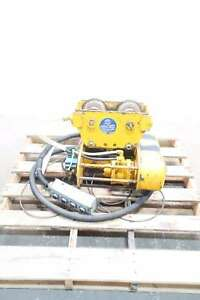 David Round M 55 60fpm Air Wire Rope 1ton Hoist
