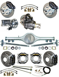 New Suspension Wilwood Brake Set Currie Rear End Posi Gear Booster 798111 Blck