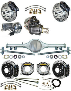 New Suspension Wilwood Brake Set Currie Rear End Posi Gear Booster 798113 Blck