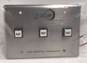 Jds Dental Products Control Panel 3 Buttons Air Water Vacuum fda cp3
