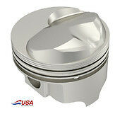 Icon Fhr Forged 496 Bbc Chevy 23cc Dome Pistons 4 310
