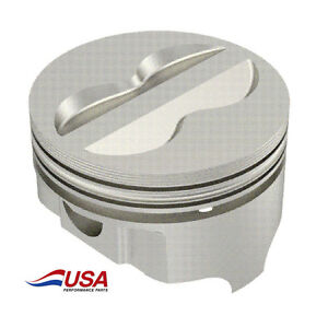 Icon Fhr Forged 383 Sbc Chevy Gm Crate Pistons 4 035