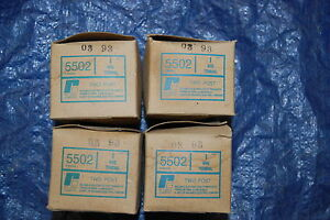 4 Nib Reliance Electric Wire Terminal 5502 Two Post