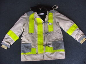Janesville Chief Firefighter Turnout Jacket variable Size New