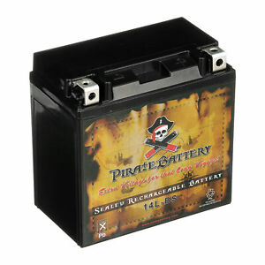 Ytx14l bs High Performance Maintenance Free Sealed Agm Motorcycle Battery