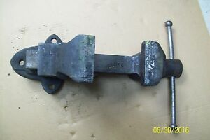 American Scale Company Bench Vise Vice 4 1 2 212a 60lbs