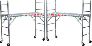 Cbm 2 New Aluminum Scaffold Rolling Towers With All Aluminum Deck