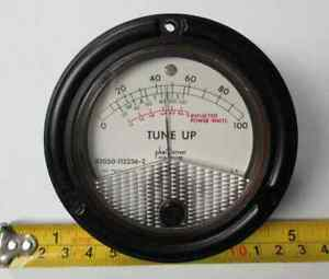 82050 112236 2 Power Watts 0 100 Phastron Ruggerized Meter New Old Stock