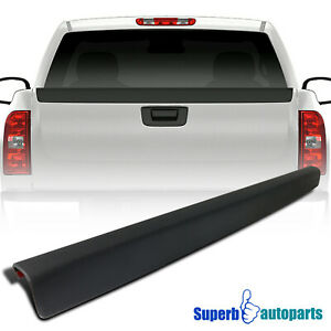 For 2007 2014 Silverado 2500 Truck Tailgate Protector Cap High Quality Abs Black