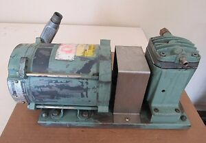 Vacuum Pump W General Electric Ge Motor 5kh321n207x