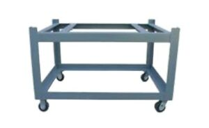 36x60 Surface Plate Castered Stand