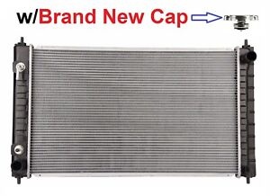 Radiator W Brand New Cap 2988 For 2007 2018 Nissan Altima 2 5l 3 5l Non Hybrid
