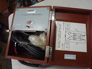 James G Biddle 55030 Avo Megger 550030 Auxiliary Transformer Turns Ratio Ttr