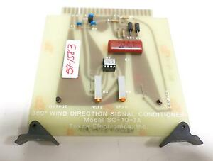 Texas Electronics Inc 360 Wind Direction Signal Conditioner Board Sc 10 7a