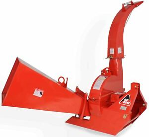 Wood Chipper 3 Point Attachment Tractor Pto 6 x12 Automatic Tree Brush Bx62