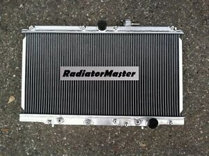 Aluminum Radiator For 1997 2001 Honda Prelude Acura Cl 2 2l L4 2row