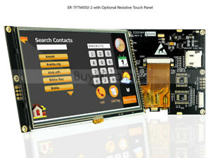 5 5 0 Inch Tft Lcd Module Display w ra8875 touch Panel i2c serial spi tutorial