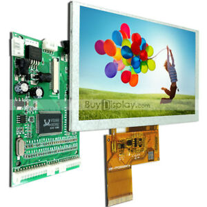 5 5 Inch 800x480 Tft Lcd Display optional Touch Panel W vga av Video Board