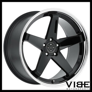 20 Blaque Diamond Bd21 Gloss Black Concave Wheels Rims Fits Jaguar Xkr