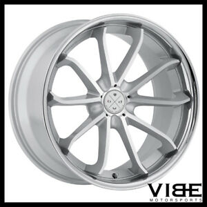 20 Blaque Diamond Bd23 Silver Concave Wheels Rims Fits Jaguar Xkr