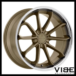 20 Blaque Diamond Bd23 Bronze Concave Wheels Rims Fits Jaguar Xkr