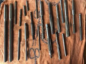 21 Reamers For Sale Various Sizes Morse Reiff Cleveland Priced To Sell