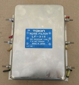 Tokin Noise Filter Lf 315 Ac Dc250v 15a Tv Ac 1500v Made In Japan Free Shipping