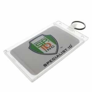 Fuel Card Holder Key Chain Gas Card Key Ring Id Keychain By Specialist Id