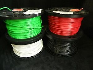 8 Gauge Thhn Wire Stranded 4 Colors 125 Ft Each Thwn 600v Copper Cable Awg