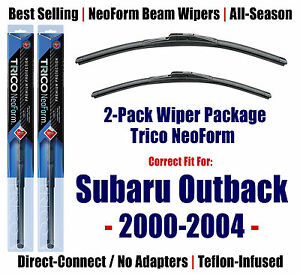 2pk Super Premium Neoform Wipers Fits 2000 2004 Subaru Outback 16220 200