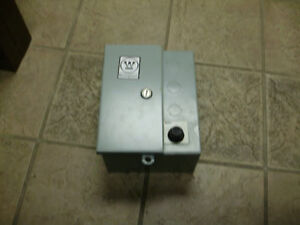 Westinghouse Size 1 Enclosed Starter 480 575 Volt 2 Hp Used Starter New Can