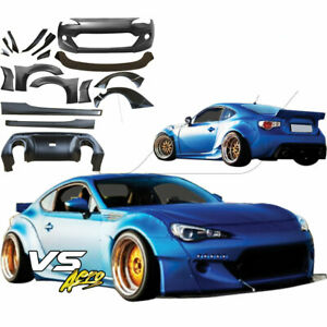 Vsaero Frp Tkyo Bunny V2 Wide Body Kit 19pc For Subaru Brz Zn6 13 18