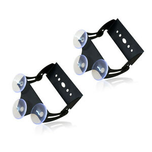 X2 Xprite 52023 Strobe Traffic Advisor Led Light Bar Bracket With Suction Cups