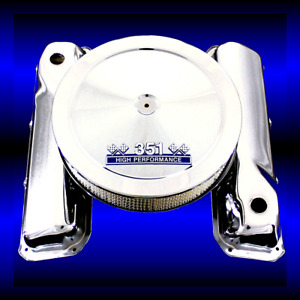 Chrome Valve Covers 351 Emblem Air Cleaner Fits 351 Cleveland Ford Engines