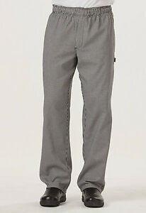 Houndstooth Dickies Men s Traditional Baggy Zipper Fly Chef Pants Dc14 Hdth