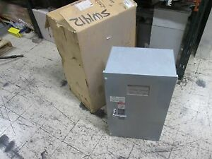 Asco Automatic Transfer Switch D00300030030n10c 30a 480v 50 60hz New Surplus