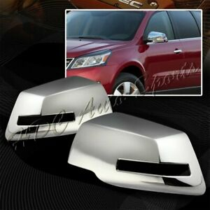 For 2007 2015 Gmc Acadia Chrome Abs Plastic Side Mirror Cover Cap Left right