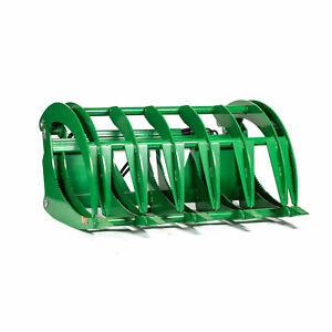 Titan Hd 60 Root Grapple Rake Fits John Deere Tractor Clamshell Attachment Rock