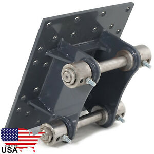 Universal Hydraulic Concrete Breaker Backhoe Excavator Mount Plate United Pro Hd