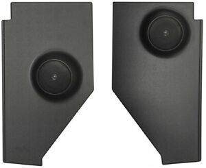 1947 1953 Chevy Truck Kick Panels With Speakers Installed