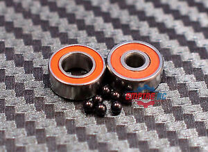 Abec 7 10 Pcs S689 2rs 9x17x5 Mm Stainless Steel Ceramic Hybrid Ball Bearing