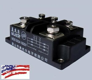 Us Ship Mds300a 3 phase Diode Bridge Rectifier 300a Amp 1600v Power