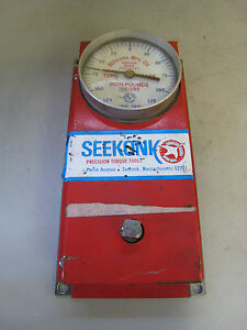 Seekonk Ta150 150 In lb 3 8 Drive Inch Pound Torque Analyzer Used Free Shipping