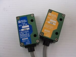Used Sunx Sx 21t sx 21r Transmitter And Receiver Set