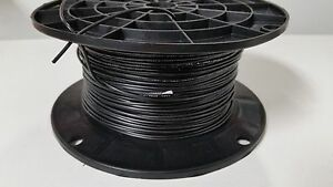 500 Reel Ul1007 20 Awg Black Hook Up Lead Primary Wire Tinned Stranded 300v