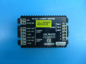 Rorze Rc 002 Rs 232c Current Adaptor