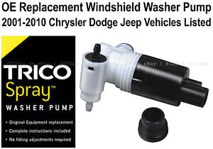 Windshield Wiper Washer Pump Oe Replacement 11 529