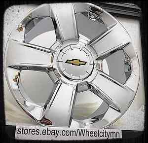 20 Inch Chrome 2014 2017 Chevrolet Silverado Ltz Oe Factory Replica Wheels 6x5 5