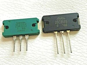 2x 2sc2565 2x 2sa1095 Npn Npn Silicon Audio Power Amp 2 Pairs