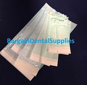 12800 Pcs Sterilization Pouches With 4 Indicator Dental tatoo vet 3 5 x10 Fda